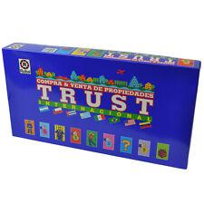Trust Internacional Compra Venta Propiedades Board Game Spanish Juego Espanol