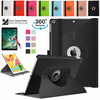 Leather 360 Rotating Smart Case Cover Stand For Apple iPad mini 2 3 & 4 - UK