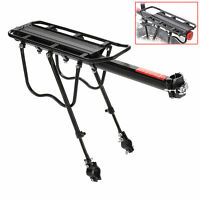 Mountain Road Bicycle Rear Rack Carrier Pannier Aluminum for Disc Brake Mount
