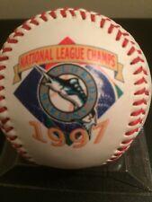 1997 FLORIDA MARLINS NATIONAL LEAGUE  CHAMPS LOGO EMBOSSED BASEBALL