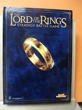 (108) GW LORD OF THE RINGS (STRATEGY BATTLE GAMES) RULE BOOK