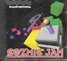 QUADROPHONIA - Cozmic Jam CD Album 14TR House 1991 (ARS) Belgium