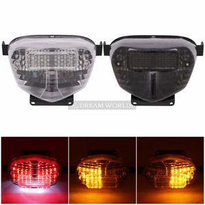 LED Turn Signals Brake Tail Light For Suzuki GSXR600 GSXR750 GSXR1000 2000-2003