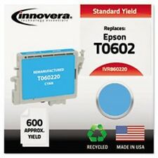Innovera Color ink Cartridge Replaces  Epson T0602 Cyan IVR -860220