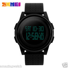 Imported Original SKMEI 1206 Full Black Digital LED Men's Wrist watch