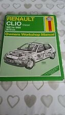 RENAULT CLIO 1991 TO 1995 DIESEL HAYNES WORKSHOP MANUAL 3031 USED COND FREE P&P