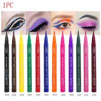 Matte Eyeliner Waterproof Liquid Long Lasting Eye Liner Pen Party Eye 12 colors-