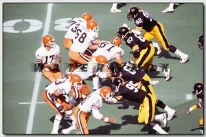 BRIAN SIPE CLEVELAND BROWNS at PITTSBURGH PRINT FROM NEGATIVE (comes in 4 sizes)