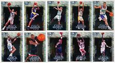 2000-01 Upper Deck MASTERS OF THE ARTS Basketball Insert Set - 10 Cards - Kobe