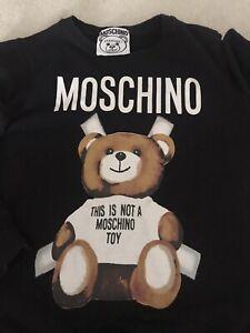 Moschino Teddy Bear Black Sweater Jumper XL (14)