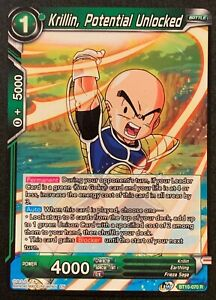 Krillin, Potential Unlocked | BT10-070 R | Green | Dragonball Super TCG