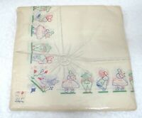 Vintage German Paper Party Napkins MIP Sun Bonnet Sue Farmer Sam Never Opened D2
