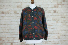 PITLOCHRY Knitwear Mohair Buttoned Jumper size L