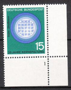 BRD 1964 Mi. Nr. 441 Postfrisch Eckrand 4 Formnummer 1 TOP!!! (9580)