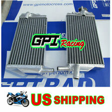FOR Honda CR 250 R CR250 2Stroke 2002 2003 2004 02 03 04 Aluminum Alloy Radiator