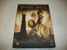 2 DVD-IL SIGNORE DEGLI ANELLI-LE DUE TORRI-2° FILM-PETER JACKSON-