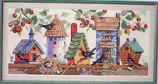 "Nancy Rossi ""Birdhouse Neighborhood"" Counted Cross Stitch Pattern"
