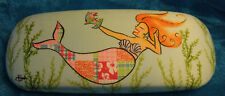Cape Shore Eye Glass Case Mermaid & Cleaning Cloth Multi Color Mermaid