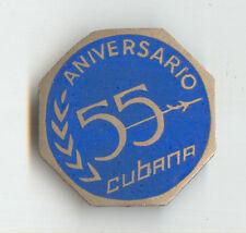 Cubana Airlines 55th Anniversary Badge