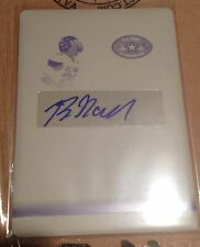 2012 Leaf Army all American Byron Marshall Printing Plate signed 1/1 Oregon duck