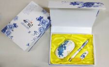 Traditional chinese style mouse pen usb flash drive gift pack kit
