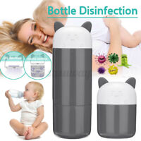 Portable Baby Bottle Warmer UV Ozone 6min Sterilizer For Beauty Tools Jewelry