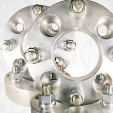 "4 USA 4 Lug 4.5"" (114.3mm) To 4 x 4.5"" Wheel Adapters 2"" Spacers 12mm 1.5 Studs"