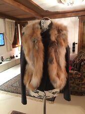 Parosh fox fur vest Weste  S