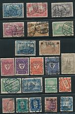 1905 - 1925 Germany (22) ISSUES; ALL USED; AS SHOWN; CV $55