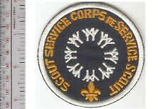 Boy Scout of Canada Service Corps 1967 Montreal World's Fair EXPO 67 Black Patch