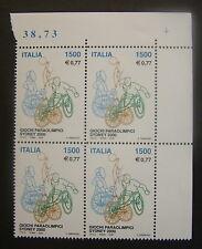2000  Italia quartina Giochi Paraolimpici Sydney 2000  1500 lire   MNh**