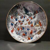 Franklin MintConvert Capers Cat Porcelain Plate by Bill Bell