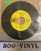 """ERNIE MOORE AND THE NIGHT ROCKERS WORK OUT 7"""" NORTHERN SOUL VINYL RECORD EX+ Con"""