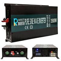 3500W 12V/24V/48V DC to 240V 50HZ Off Grid Pure Sine Wave Solar Power Inverter