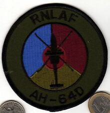 Royal Netherlands Air Force AH-64D Attack Helicopter Squadron Patch