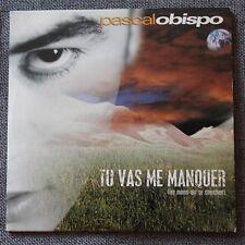 Pascal Obispo, tu vas me manquer / la capture, CD single