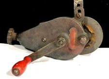 Hand Crank Bench Grinder~Competo #4~American Hydraulics Co~Fond-Du-Loc~REDUCED