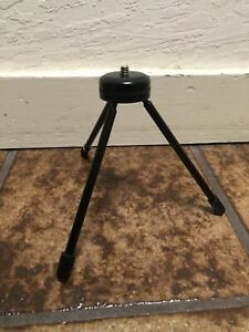Black Portable Mini Table Top Stand Tripod Grip Stabilizer For Projector FM