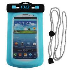 OverBoard Waterproof iPhone Case - Aqua Blue