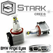 BMW Angel Eyes 40W H8 White HID Xenon 6000k Halo Ring LED Light X5 E90 E92 E93