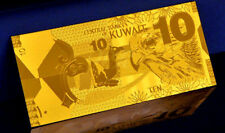 """★★ KOWEIT / KUWAIT : BILLET POLYMER  """" OR """" DU 10 DINARS ★★"""