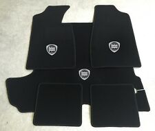 Autoteppich Fußmatten Kofferraum Set für Lancia Fulvia Coupe silber 5tlg. Neu