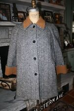 Vintage Herribone TRAINA-NORELL New York Coat  M - L ?