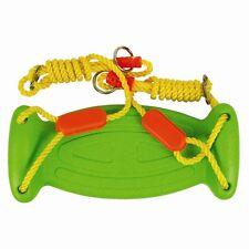 ENFANTS Balançoire de jardin siège moulé avec cordes,crochets,anneaux & manches