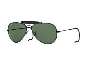 Occhiali da Sole Ray Ban Limited nero RB3030 OUTDOORSMAN  verde  g15 L9500