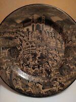 "Mexico Acapulco Juan Solis Ceramic Wall Plate 16"""