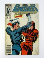 PUNISHER #10 Marvel Comics Daredevil Newsstand Edition VG 1988