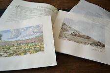 MUAGES Livre-objet Enluminure d'art au pochoir signée et numérotée Michel Dubré