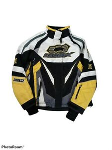 Ladies L Castle X Charge G3 Yellow Snowmobile Jacket