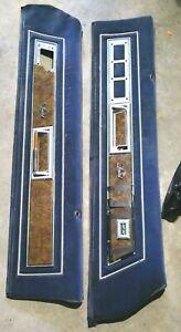 1983 Buick Regal Pair INTERIOR DOOR PANELS 2 DOOR  LOC-174